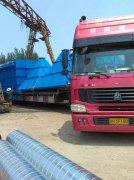 2016年4月往发往广西客户的布袋除尘器已发货
