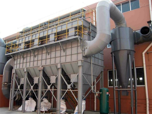 19年6月脉冲布袋除尘器发往天津