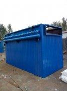 陕西客户4吨锅炉除尘器发货
