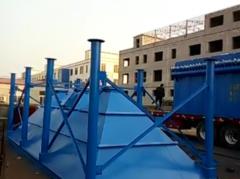2017年2月四川吴经理脉冲布袋除尘器装车