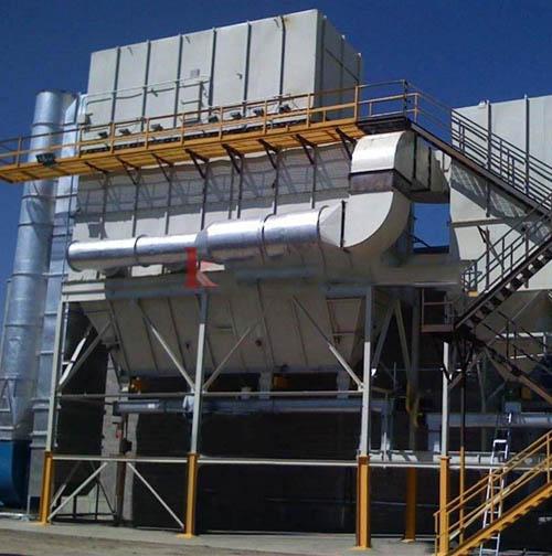 10月份化肥厂专用布袋除尘器发货
